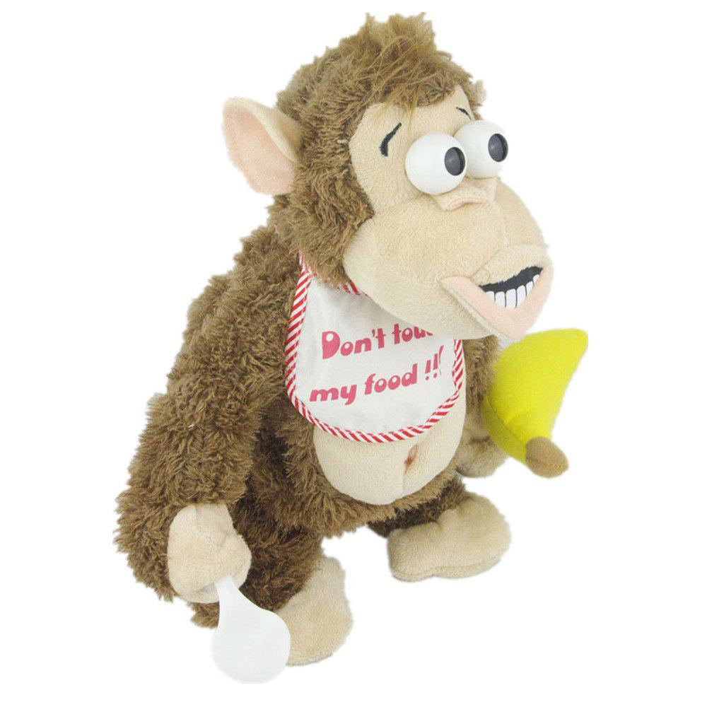 Magnetic Control Standing Monkey Electric Plush Orangutan Toys Gift for Children pursue 22 55 cm bebe reborn silicone baby dolls toys for children girls house playmate baby alive soft toys best gift for girls