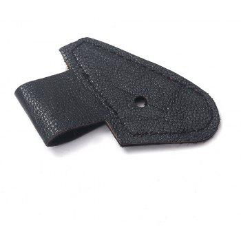 Acoustic Guitar Endpin Jack Fixed Holster - BLACK