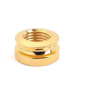 Gold Guitar Strap Button for Fishman / Switchcraft Pickup Endpin Jack - GOLD