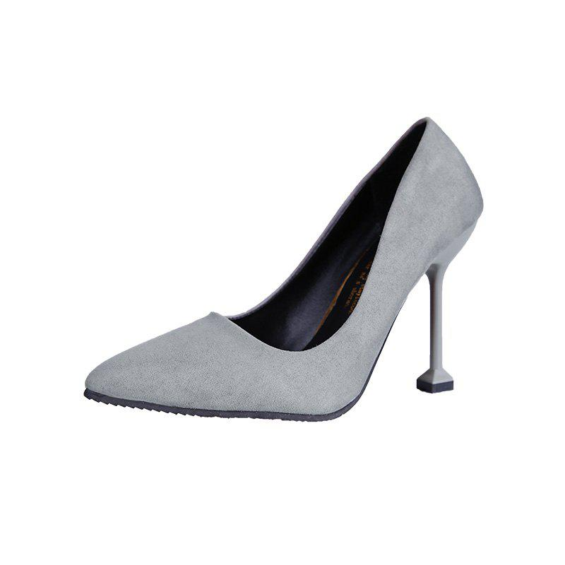 New Women Single Shoes High Heels new extreme high heels party thin heels slip on ladies shoes