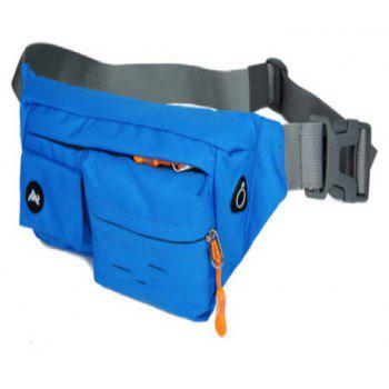 Multifunction Breathable Waist Bag for Outdoor Sports Mountaineering Running - DODGER BLUE