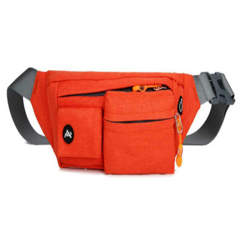 Multifunction Breathable Waist Bag for Outdoor Sports Mountaineering Running - LOVE RED
