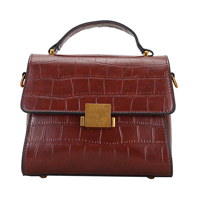 Crossbody Bags for Women's Handbag PU Leather Shoulder Bag - SEPIA