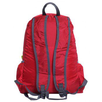 Polar Fire Waterproof Lightweight Foldable Hiking Backpack Outdoor Bag - RED