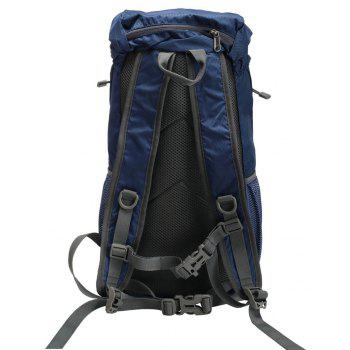 PolarFire Water Resistant Lightweight Nylon Bag Outdoor Travel Climbing Backpack - MIDNIGHT BLUE