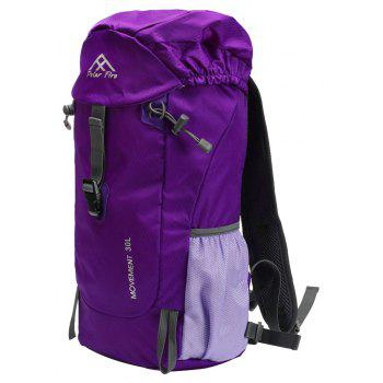 PolarFire Water Resistant Lightweight Nylon Bag Outdoor Travel Climbing Backpack - VIOLET