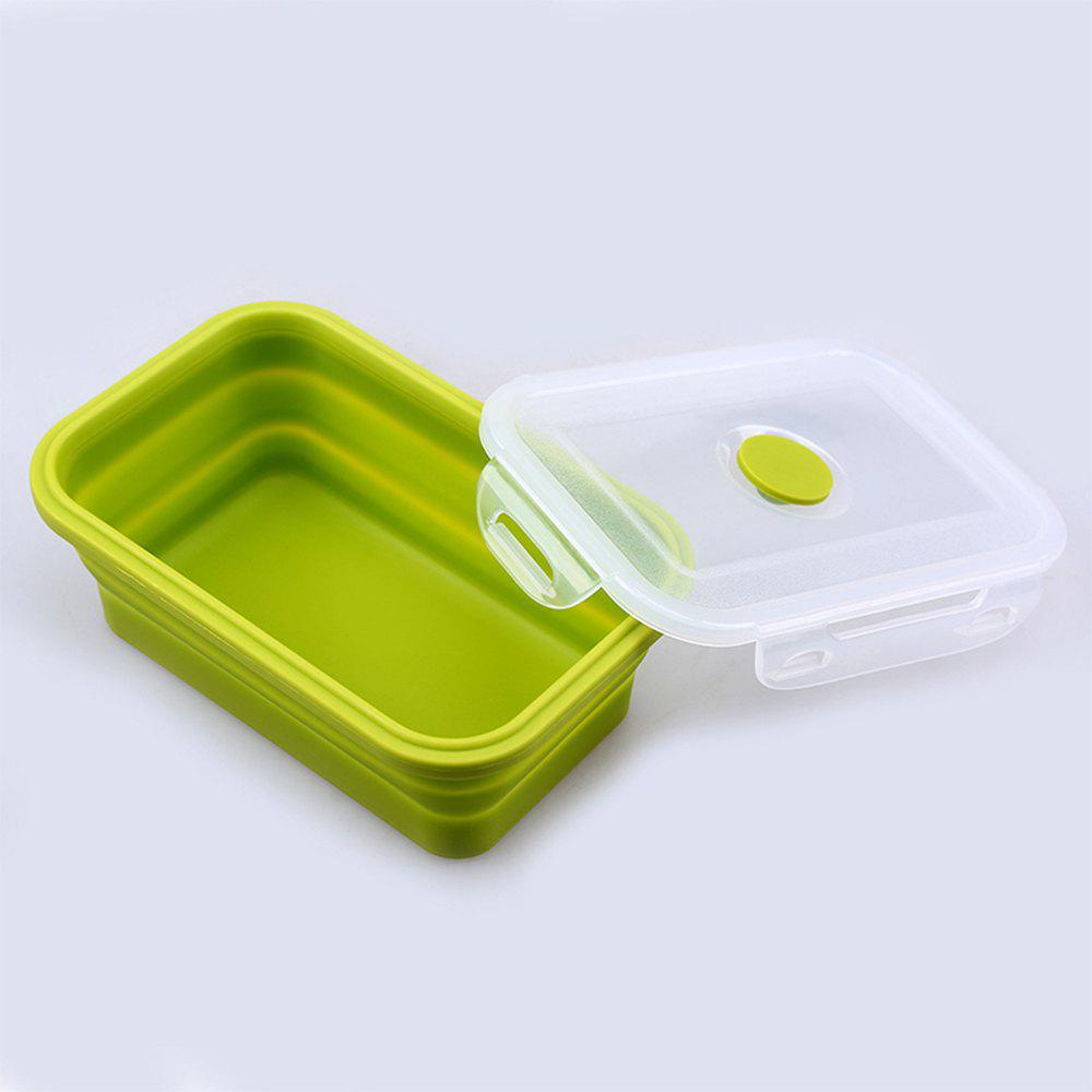 Фото - 800ML Portable Lunch Bowl Folding Food Storage Box пенал dakine lunch box 5 l augusta