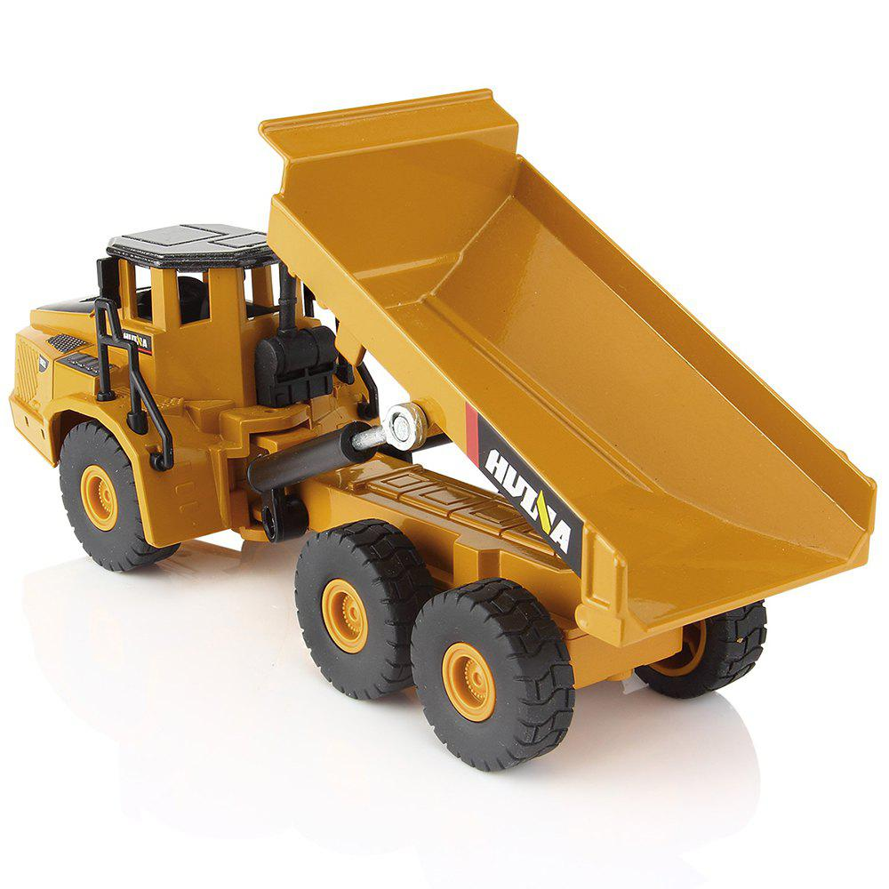 1:50 Scales Alloy Excavator Dumper Engineering Metal Diecast Car 1 35 xugong xcmg xe215c excavator alloy truck diecast model construction vehicles toy