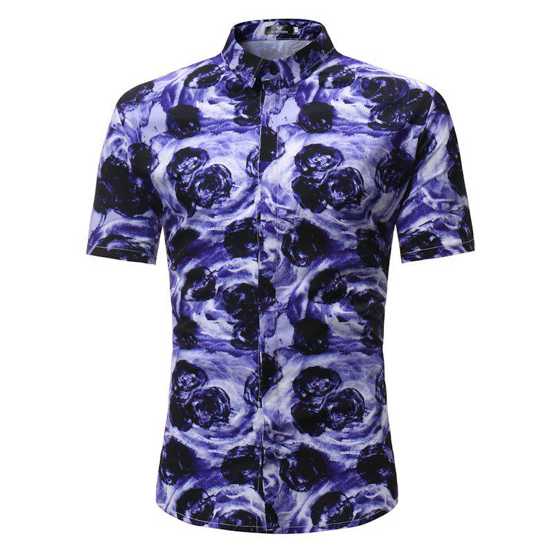 New Summer New Men's Short Body Shirt