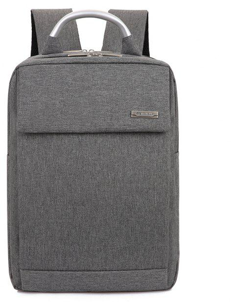 Men Laptop Backpacks Male Computer Bags Travel Daypack - GRAY