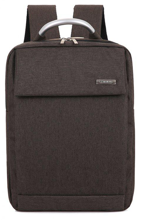Men Laptop Backpacks Male Computer Bags Travel Daypack - PUCE