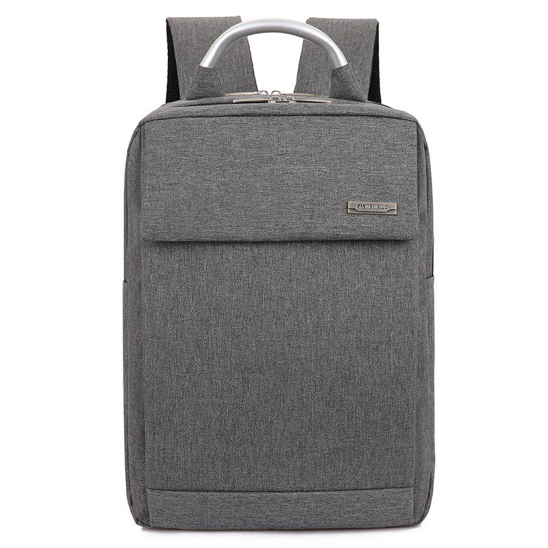 ae7709193e best travel daypack free knight Source · 2018 Men Laptop Backpacks Male  Computer Bags Travel Daypack GRAY In