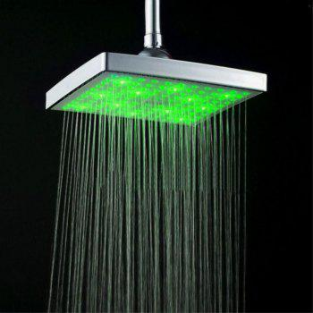 LED Color Changing Shower Top Spray - SILVER