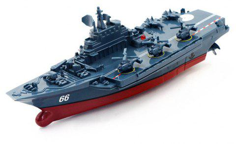 Remote Control Warships 3319 Aircraft Carrier Military Exquisite Model - multicolor