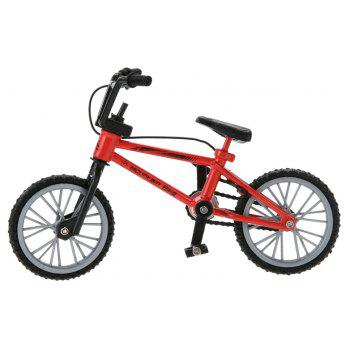 Miniature Finger Mountain Bike Excellent Functional Toys - RED