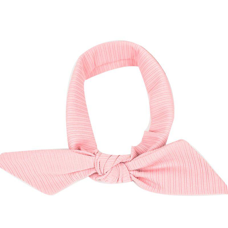 The New Rabbit Ear Hair Ribbon Bow - PINK