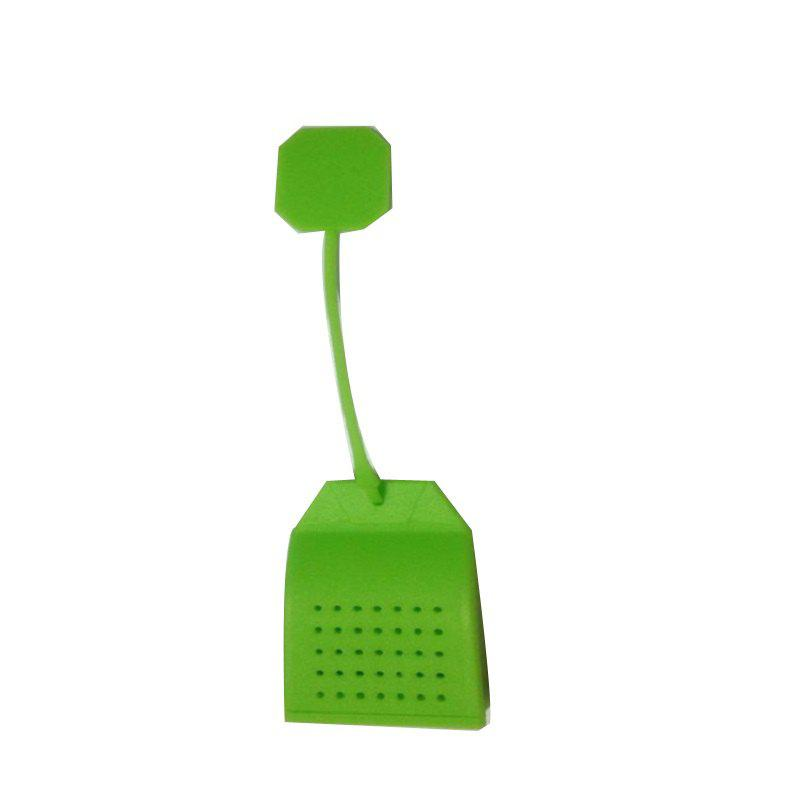 High Temperature Resistant Silicone Tea Strainer - GREEN