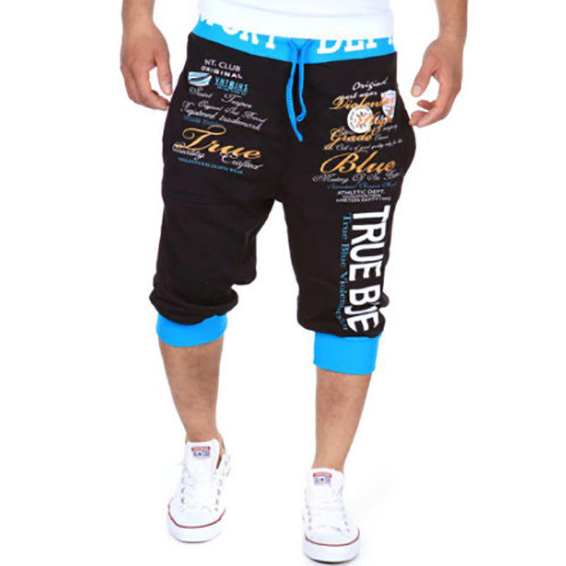 New Men's Cropped Trousers Digital Printed Fashion Casual Shorts 30 new styles festival gifts top trousers lifestyle suit casual clothes trousers for barbie doll 1 6 bbi00636