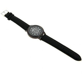 Lucky Family G1197 Earth Surface Touch Screen LED Watch - BLACK