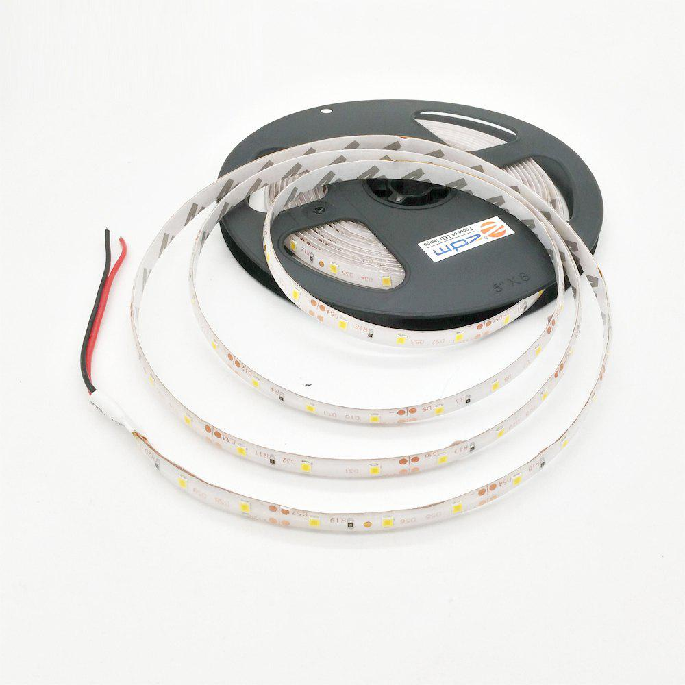 ZDM Waterproof 5M 300 x 3528 LED Light Strip with AC / DC Transformer - WARM WHITE 美规