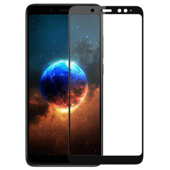Tempered Glass Full Cover Screen Protector Film for Xiaomi Redmi Note 5 - BLACK