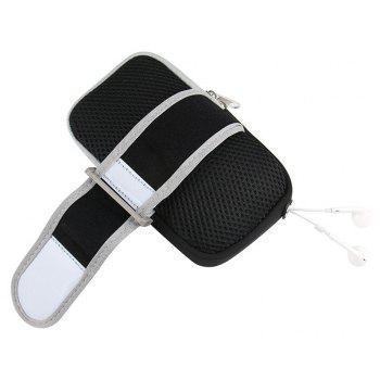 Touch Screen Wrist Band of Outdoor Mobile Phone for Men and Women - BLACK
