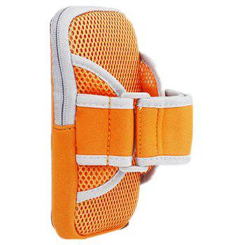 Outdoors Running Arm Band for Male and Female Riding Bodybuilding - ORANGE