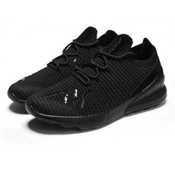 New Bee Eye Mars Lightweight Fashion Running Shoes - BLACK 44