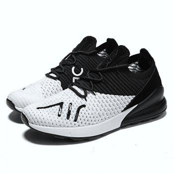 New Bee Eye Mars Lightweight Fashion Running Shoes - WHITE 42