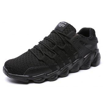 Flying Woven Ivory Sports Shoes - BLACK 41