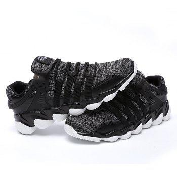 Flying Woven Ivory Sports Shoes - DARK GRAY 42