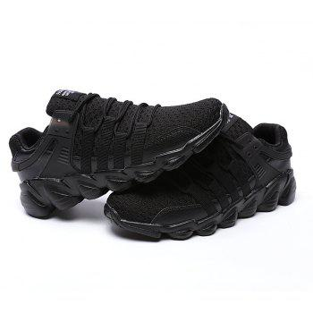 Flying Woven Ivory Sports Shoes - BLACK 42