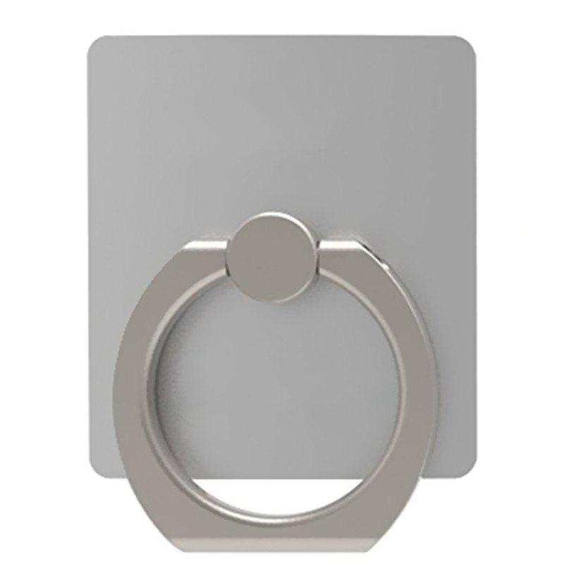 Creative Paste Ring Buckle Mobile Phone Stent - SILVER
