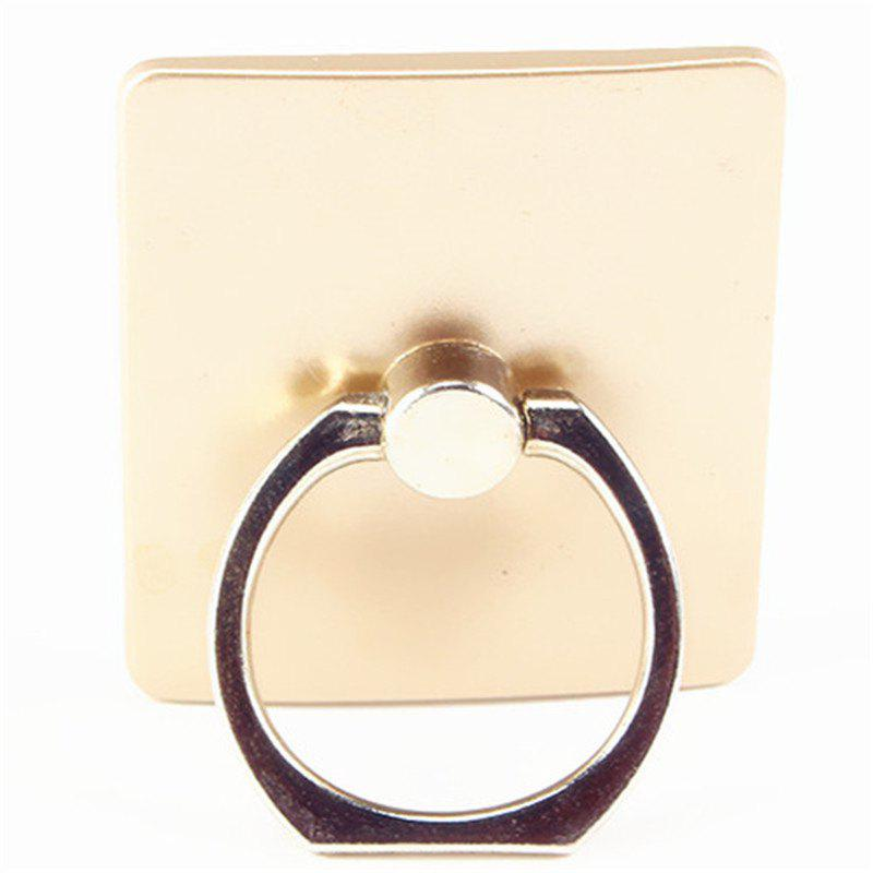 Creative Paste Ring Buckle Mobile Phone Stent - GOLD