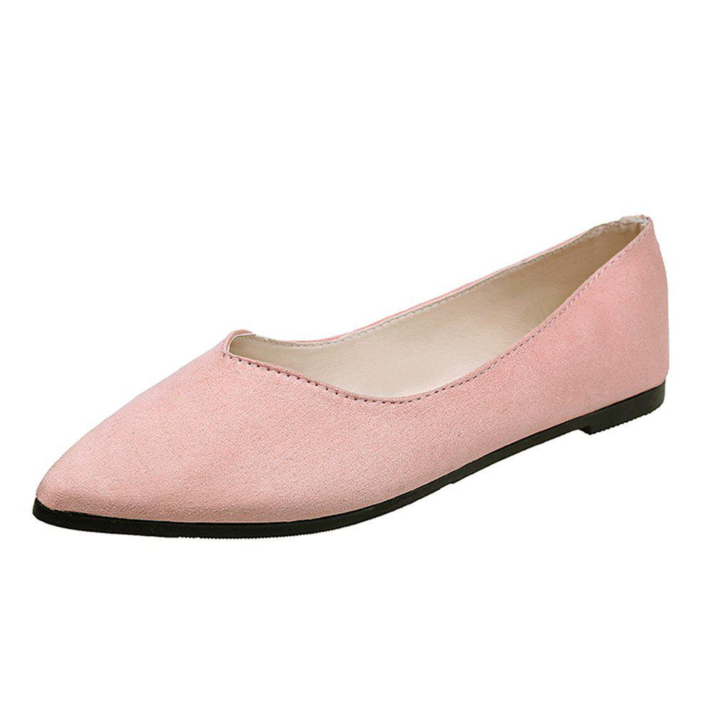 comforter work genuine casual flats new nurse comfortable office for shallow shoes leathe flat techieblogie women info loafer