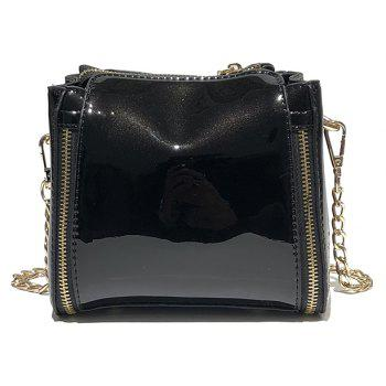 DA13029Women'S Single Shoulder Handbag - BLACK