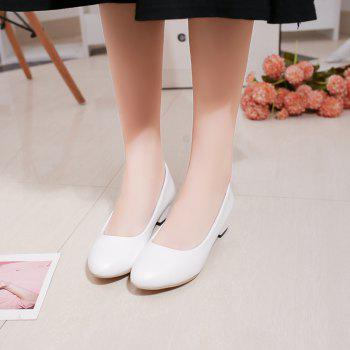 Heiseqian And Professional Single Shoes - WHITE 40