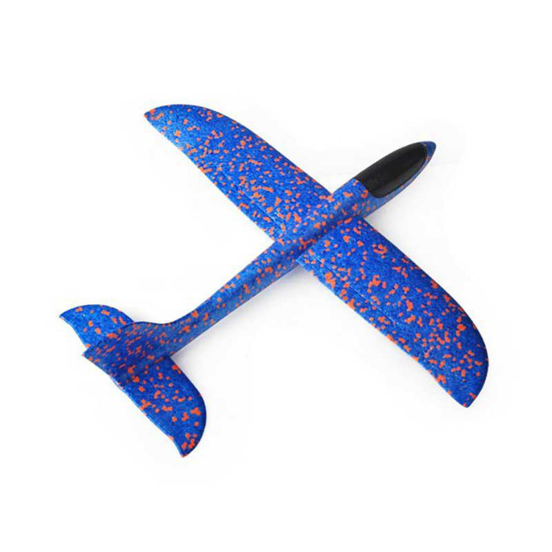 Foam Airplane Toy Throwing Glider Plane Outdoor Sports Model for Kids 37cm resin plane model a320 airplane model china eastern qinghai airlines aircraft model china eastern airways aviation model
