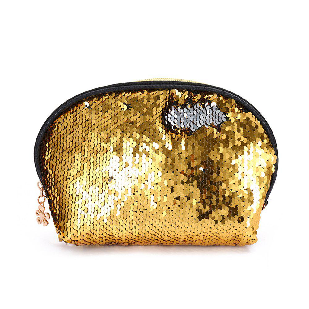 Sms-03 Sequins Holding A Cosmetic Bag 4 color - GOLD