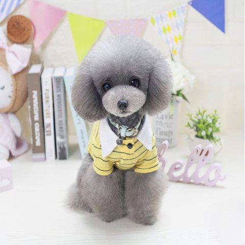 Lovoyager VB1802 New Cute Fashion Dolphin T-Shirt for Pets in 2018 - YELLOW L
