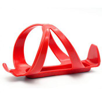 Mountain Bike Riding Equipment Plastic Kettle Frame - RED