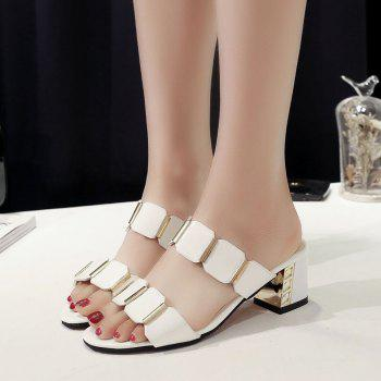 The Flip-flops Fish-mouth Sandals - WHITE 40