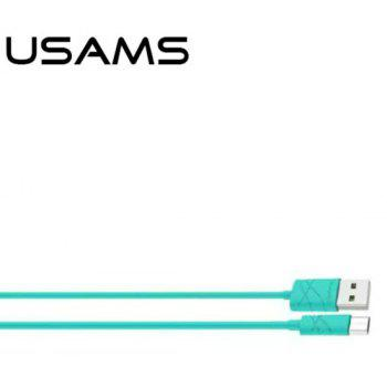 USAMS SJ039 Micro USB Cable 2A Fast Charging Date Sync 1M - GREEN