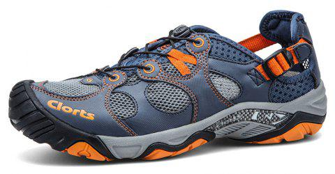 Clorts Men Quick-drying Wading Water Shoes For Outdoor - STEEL BLUE 41