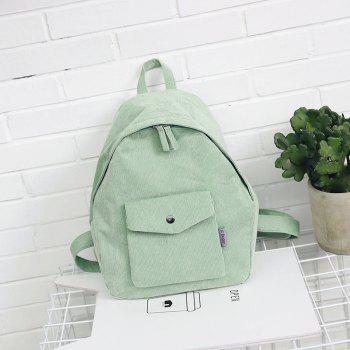 Simple Large Capacity Casual Travel Backpack - PALE BLUE LILY