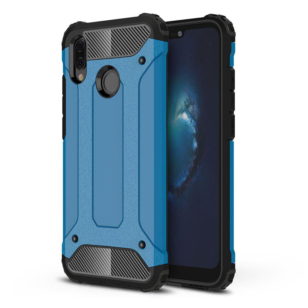 Armor Case for Huawei P20 Lite Shockproof Protective Back Cover - BLUE