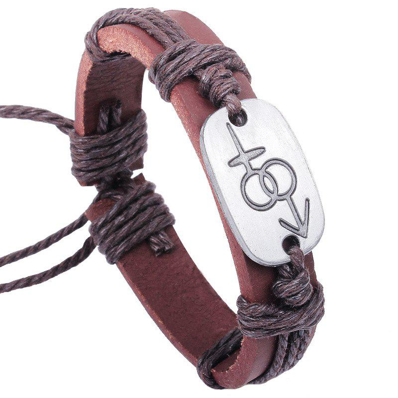 New Couple Jewelry Bracelet - COFFEE