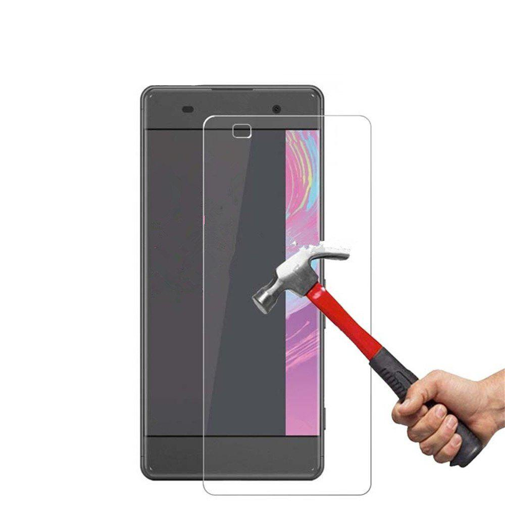 9H 0.3mm High Definition Glass Protective Film for SONY XA - WHITE