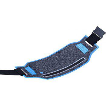 Fashion Breathable Waist Bag for Outdoor Sports Mountaineering Running - CRYSTAL BLUE