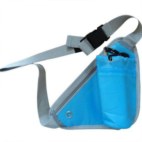 Triangle Portable Multi-functional Waterproof Outdoor Sports Pockets - BLUE